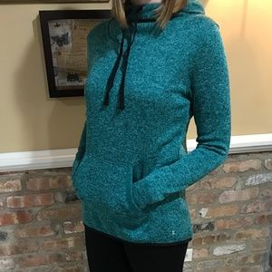Heather Green Workout Hoodie